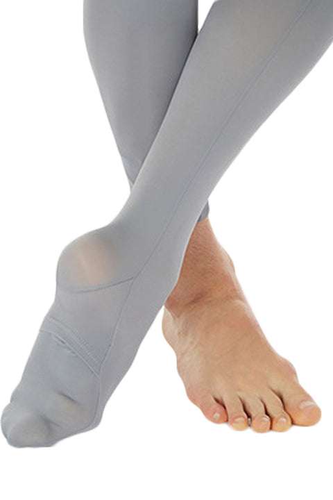 BODY WRAPPERS B90 BOYS CUT AND SEWN CONVERTIBLE FOOT DANCE TIGHT