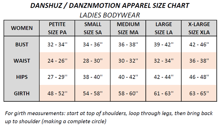DANSHUZ 2409A VERTICAL SEVEN STRAP BACK LEOTARD