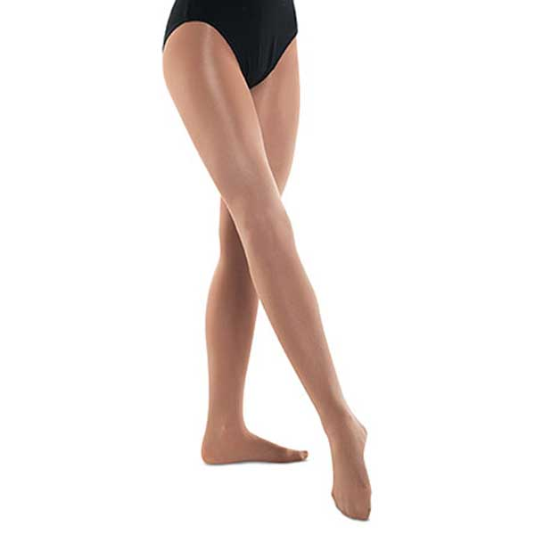 DANSHUZ 502 GIRLS SHIMMERY FOOTED TIGHTS