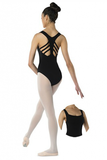 DANSHUZ 2418C CHILD FISHBONE BACK LEOTARD
