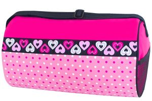 Sassi Designs DTZ-02 Blank Heart Ribbon Duffle