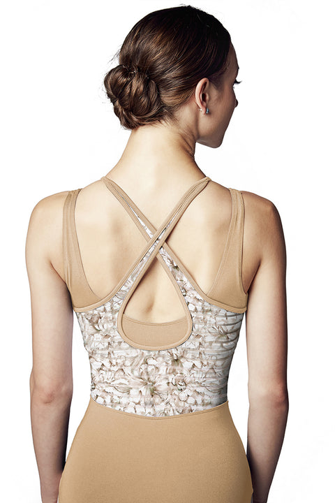 BLOCH L9965 WOMEN X-BACK TANK LEOTARD