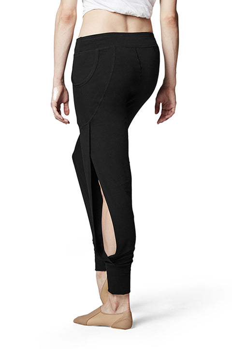 BLOCH FP5054 WOMEN SLIT SIDE HAREM PANTS