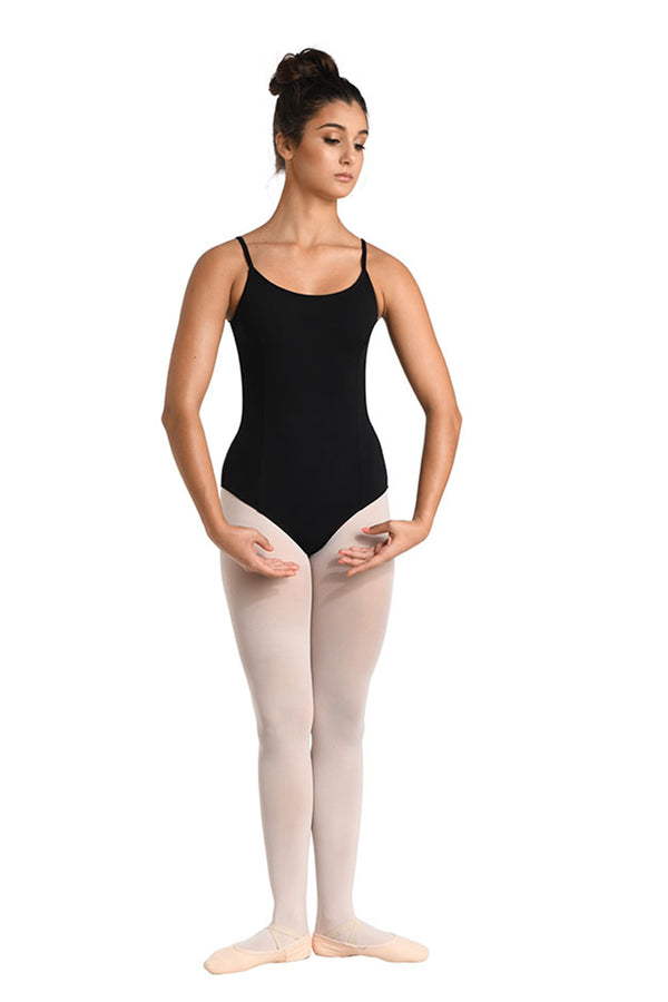 DANSHUZ 283A ADULT TWIST BACK CAMISOLE LEOTARD