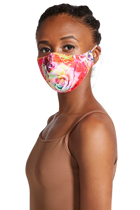 BLOCH ADULT B-SAFE PRINT LANYARD FACE MASK