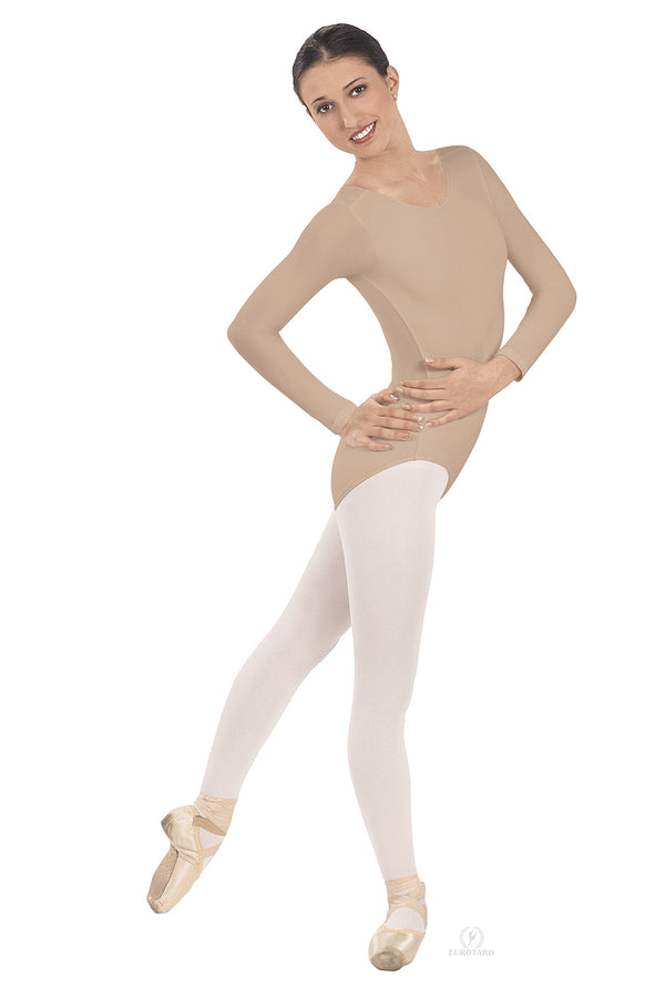 EUROTARD 10265 WOMEN LONG SLEEVE LEOTARD