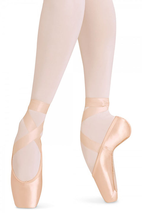 BLOCH ES0160L BALANCE EUROPEAN PINK POINTE SHOE
