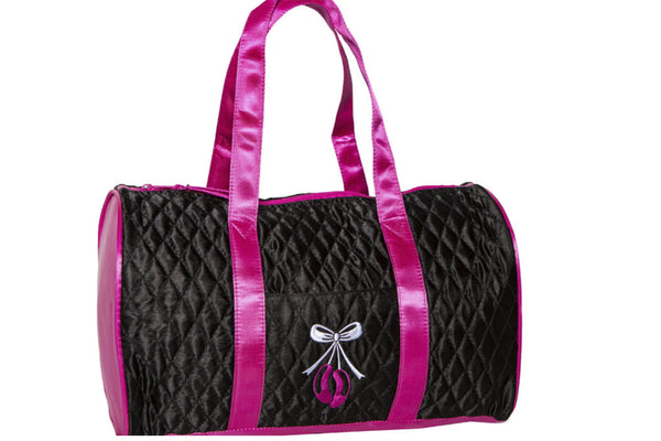HORIZON 1006 PRETTY IN BLACK OPEN FRONT POCKET TOTE