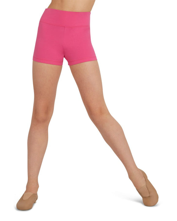 CAPEZIO TB131C HIGH WAISTED SHORT GIRLS
