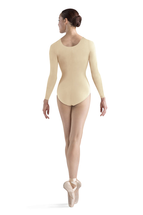 BLOCH L5609 WOMEN LEPSI LONG SLEEVE LEOTARD
