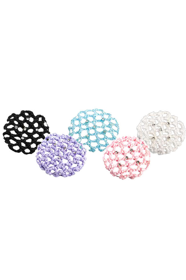 DANSHUZ 685S SMALL BUN COVERS W/RHINESTONES