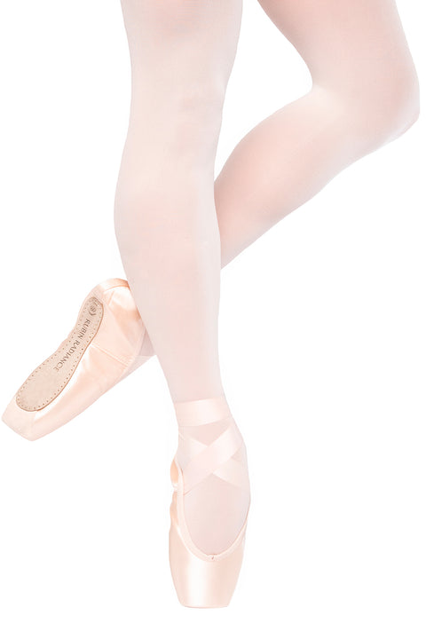 RUSSIAN POINTE RUBIN RADIANCE U-CUT w/ DRAWSTRING VAMP 2 POINTE SHOES