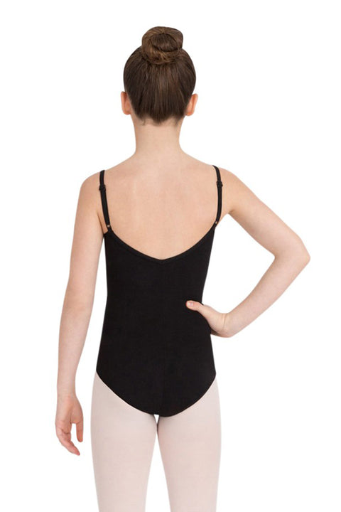 CAPEZIO CC100C GIRLS CAMISOLE LEOTARD WITH ADJUSTABLE STRAPS