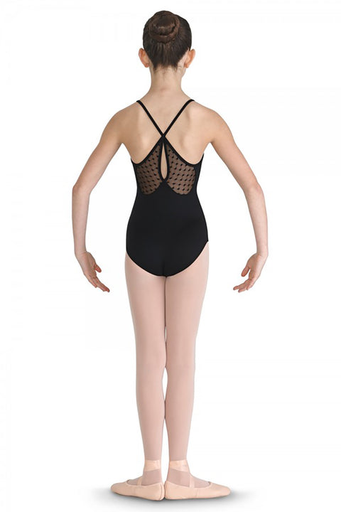 BLOCH CL7937 CHANRAK X-BACK MESH CAMISOLE