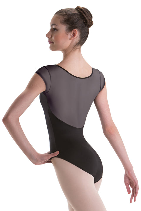 MOTIONWEAR 2432 WOMEN SILKSKIN SWEETHEART CAP SLEEVE LEOTARD