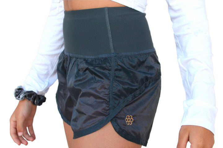 HONEYCUT GIRLS HIGH WAISTED INDI SHORTS