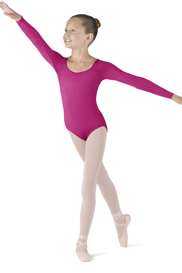 BLOCH CL5609 MEGLIO LONG SLEEVE LEOTARD