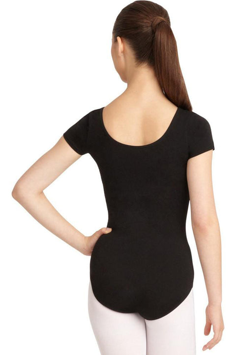 CAPEZIO CC400 SHORT SLEEVE LEOTARD