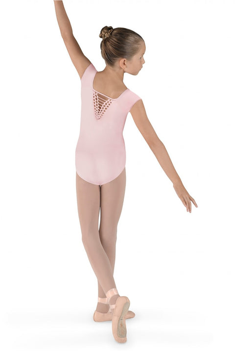 BLOCH CL7372 HOUSTON BACK CAP SLEEVE LEOTARD