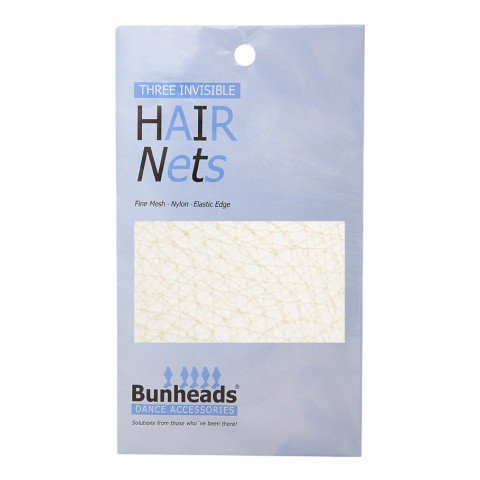 BUNHEADS BH423 DARK BROWN HAIR NETS