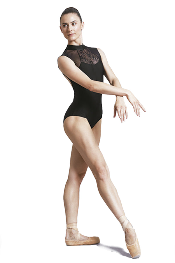 BALLET ROSA ANITA LADIES MESH FRONT OPEN BACK TANK LEOTARD