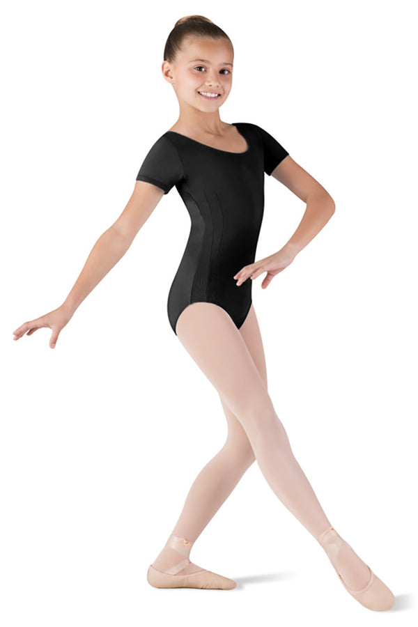 BLOCH CL5462 PRINCESS SHORT SLEEVE LEOTARD