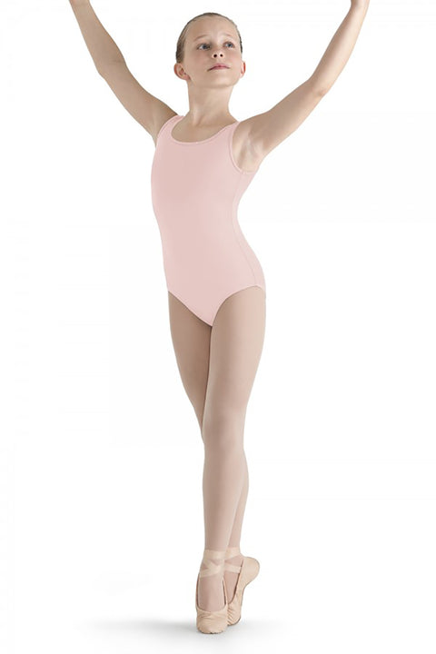 BLOCH M347C GIRLS TULLE BACK TANK LEOTARD
