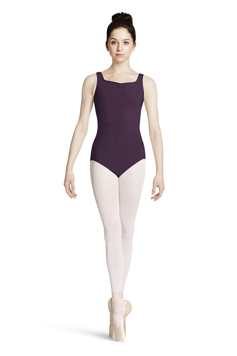 MIRELLA M416LD ADULT TANK LEOTARD WITH INNER SUPPORT CUPS