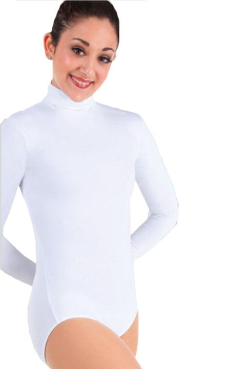 BODY WRAPPERS BWP201 LONG SLEEVE TURTLENECK LEOTARD