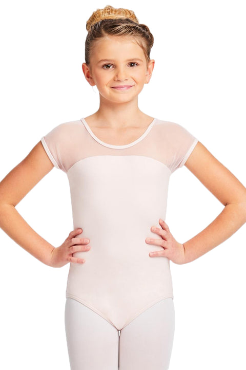 CAPEZIO 11270C GIRL'S CAP SLEEVE LEOTARD
