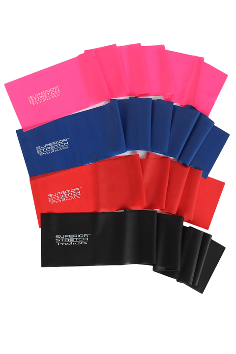 SUPERIOR STRETCH CLOVER BAND - INDIVIDUAL LEVEL 2 LATEX RESISTANCE STRETCH BAND