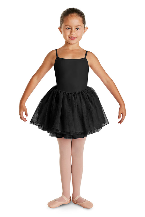 BLOCH CL2937 MAE SPRINKLE GIRLS CAMISOLE TUTU DRESS