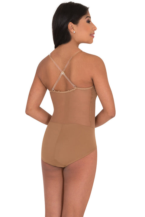 BODY WRAPPERS 298 CAMISOLE CONVERTIBLE BODY BRIEF LEOTARD