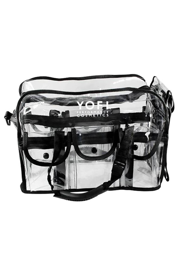 YOFI CLEAR MAKE-UP STAGE BAG