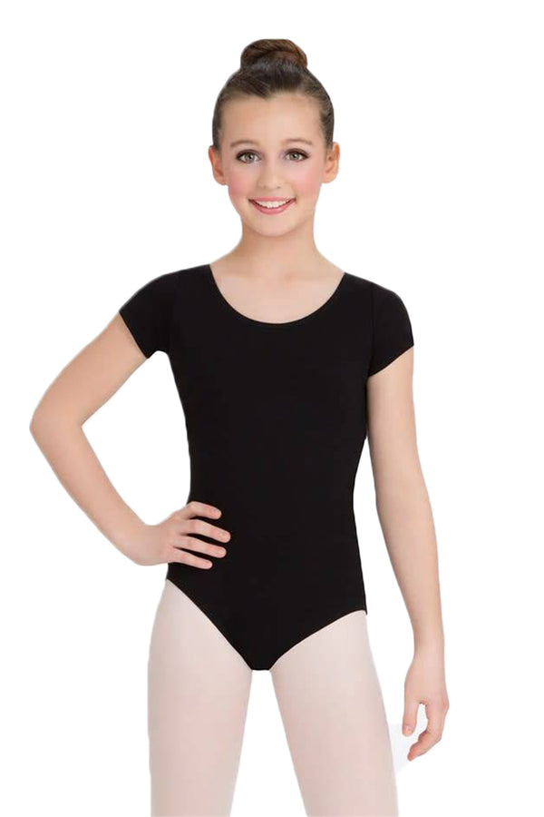 CAPEZIO CC400C SHORT SLEEVE LEOTARD GIRLS