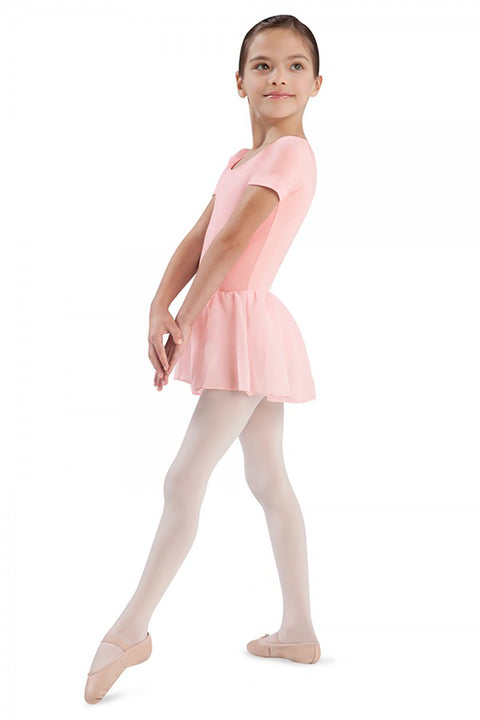 BLOCH CL5342 TIFFANY SHORT SLEEVE DRESS