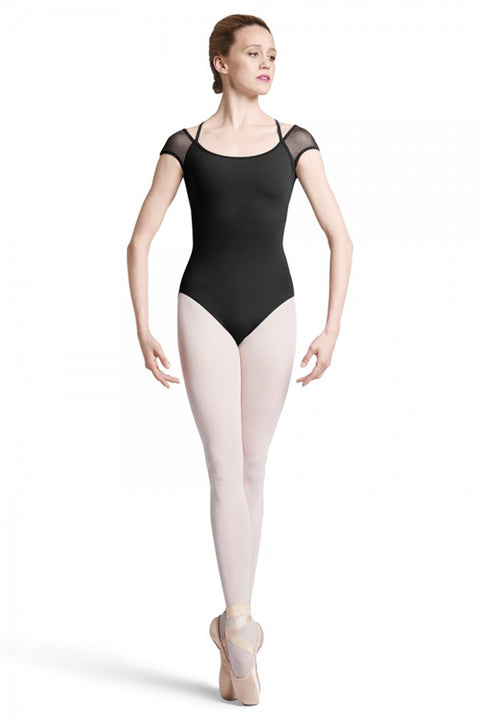 BLOCH L8882 WOMEN FEDLEM CAP SLEEVE LEOTARD