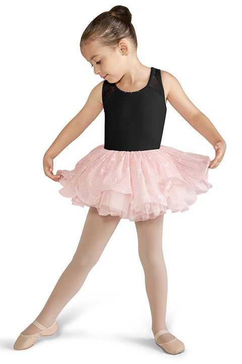 BLOCH CL9555 GIRLS BACK MESH TANK LEOTARD