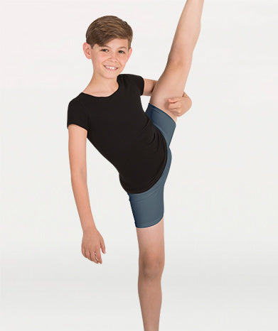 BODY WRAPPERS B192 BOYS PROTECH DANCE SHORT