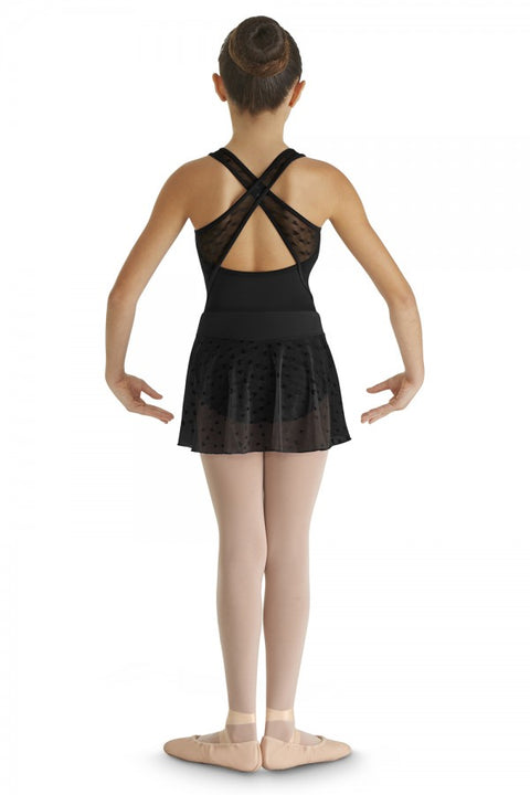 BLOCH CR9351 DURGA HEART MESH SKIRT