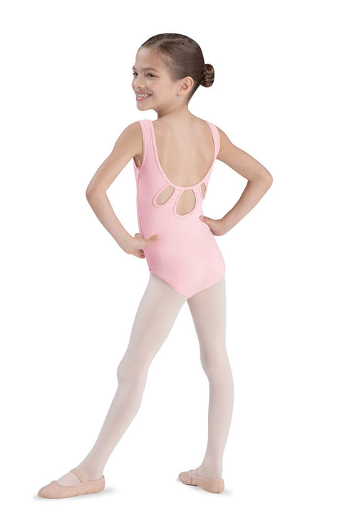BLOCH CL3785 TAIPEI TANK LEOTARD WITH DIAMANTE ACCENTED TEARDROP
