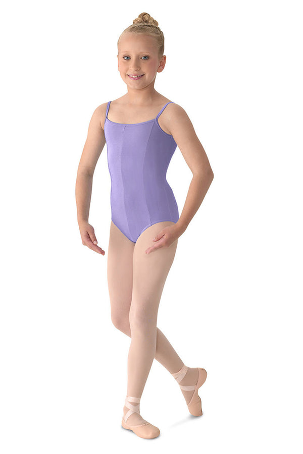 MIRELLA M207CD PRINCESS SEAMED CAMISOLE LEOTARD