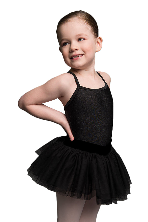 MOTIONWEAR 4031 CHILD V-WAIST CAMISOLE TUTU LEOTARD