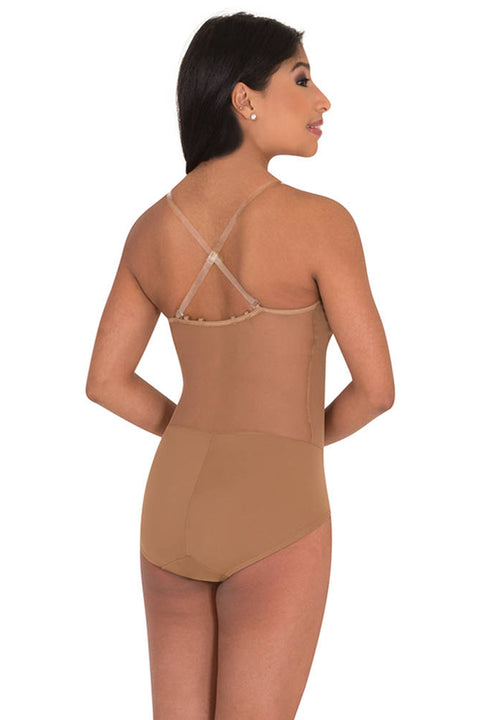 BODY WRAPPERS 296 CAMISOLE CONVERTIBLE BODY SHORT LEOTARD