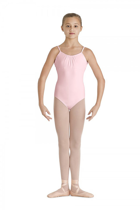 BLOCH CL7790 TALYA FRONT GATHER CAMISOLE LEOTARD