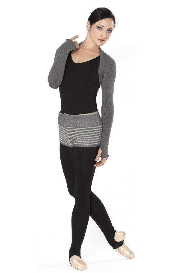 INTERMEZZO 6277 ADULT LONG SLEEVE WARM-UP SHRUG