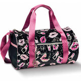DANSHUZ LIPS X LIPSTIX ROLL DUFFEL BAG