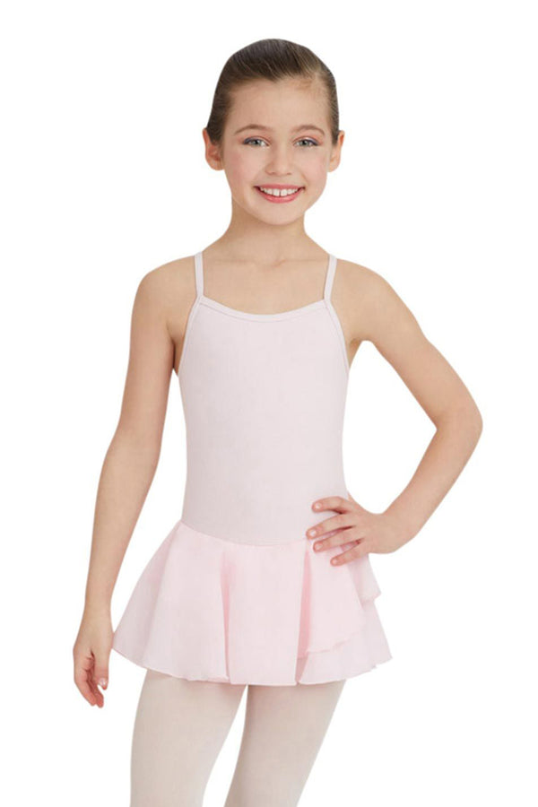 CAPEZIO N9816C GIRLS CAMISOLE COTTON DRESS