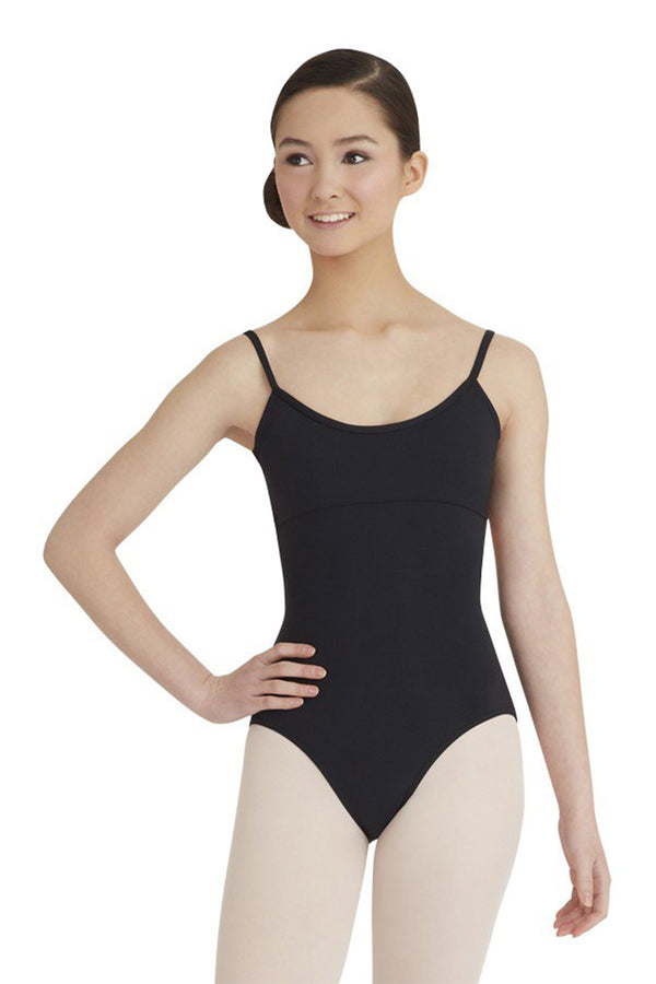 CAPEZIO MC102 CAMISOLE LEOTARD WITH TWIST BACK