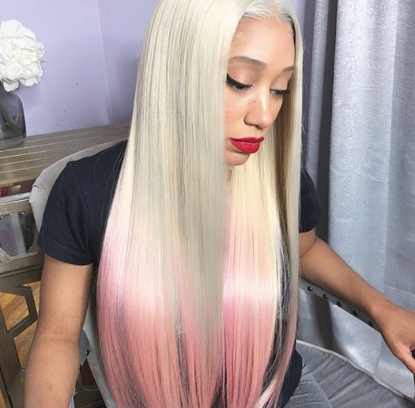 Russian Blonde Lace Frontal Wigs - CrownedQueenHair